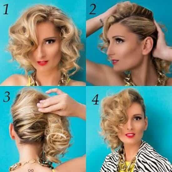Encantador años 80 peinados Colección de tendencias de color de pelo - Peinados De Los 80 : La Moda Más Divertida De Todas Las ...