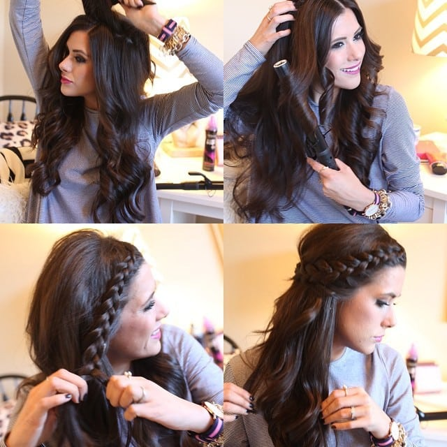 3 peinados bonitos para ir a la escuela que puedes hacer t misma - Peinados para hacerse una misma ...