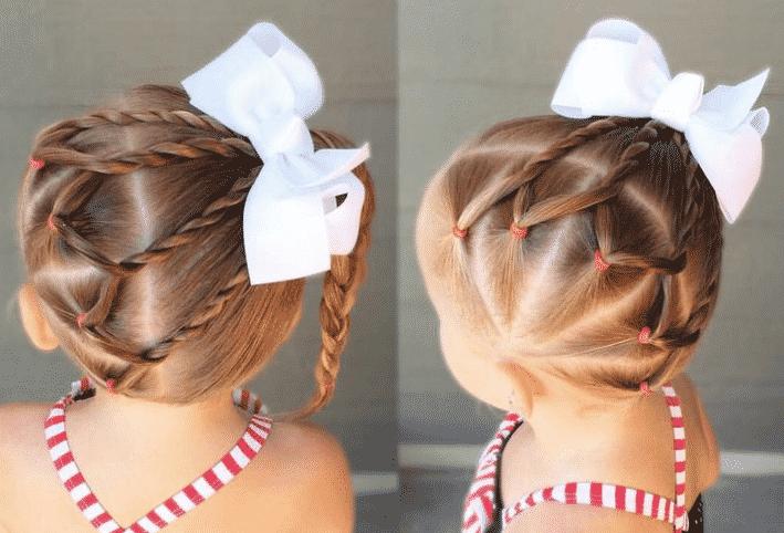 Peinados para bebe toda una real princesa desde su - Como hacer peinados faciles ...