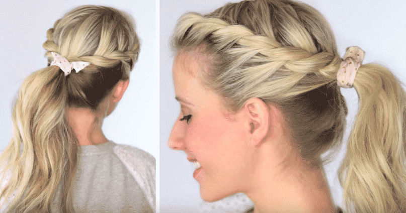 5 Peinados Casuales Recogidos Juveniles Hechos Paso A Paso