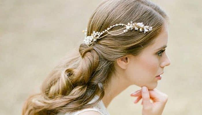 Peinados para primera comunion con velo faciles