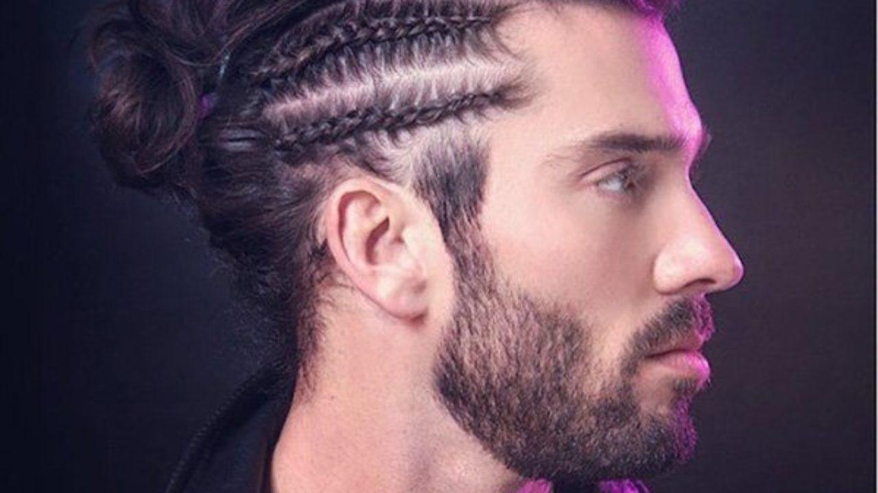 Peinados Con Trenzas Para Hombres Muy Versátiles