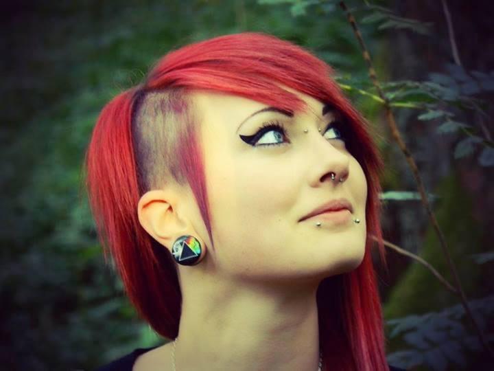 Peinados emo de mujer