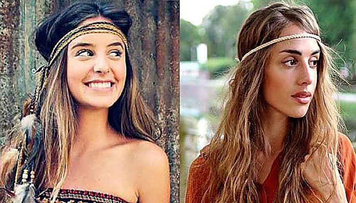Luce Un Estilo Muy Natural Y Libre Con Los Peinados Hippies