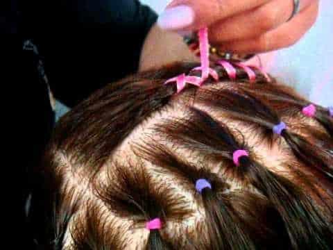 Peinados faciles con cintas para ninas