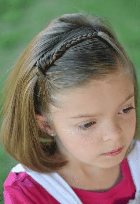 5 Tipos De Peinados Infantiles Para Cabello Corto