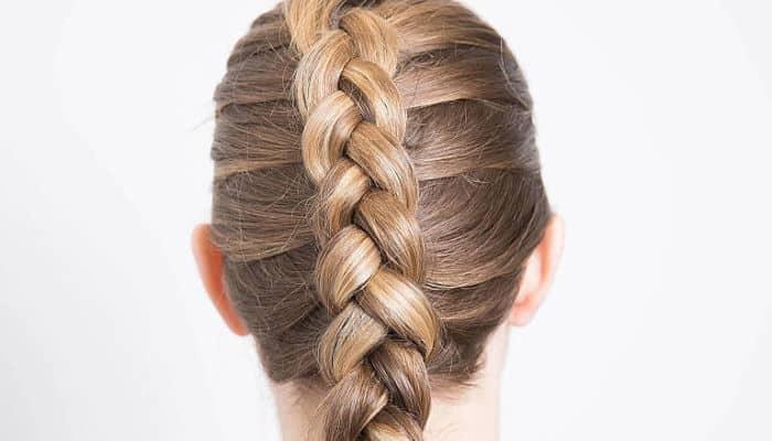 peinados con trenzas invertidas 4 estilos paso a paso