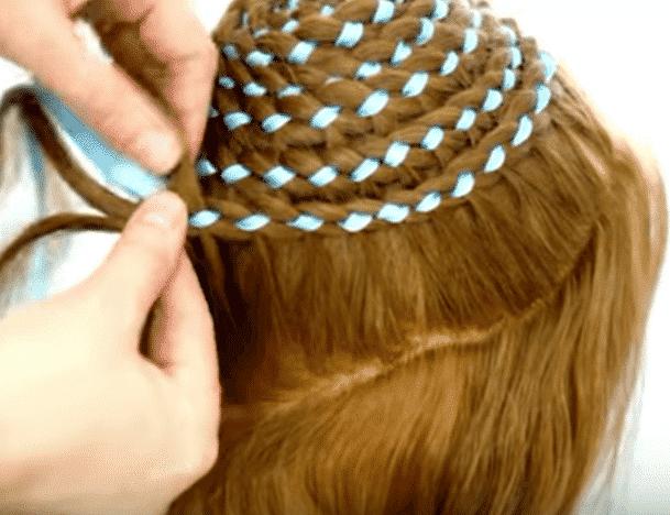 Peinados con trenzas y cintas muy bonitos paso a paso - Peinados bonitos paso a paso ...