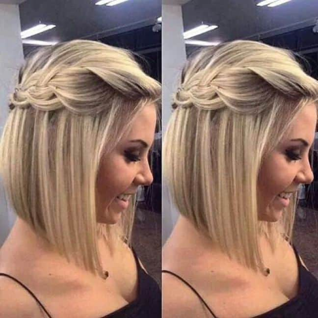 Peinados faciles para melena mediana