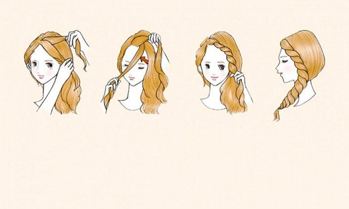 Trenzas Faciles Para Nias Finest Peinados Para Ninas Faciles Y