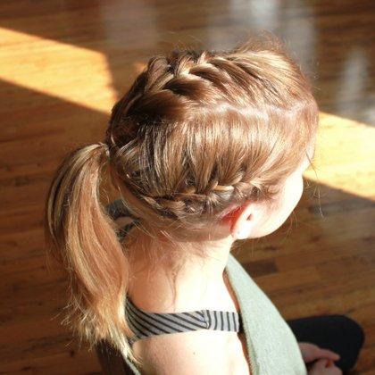 Peinados de trenzas francesas para ninas