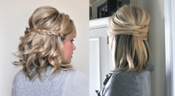 Peinados para graduacion pelo corto 2018