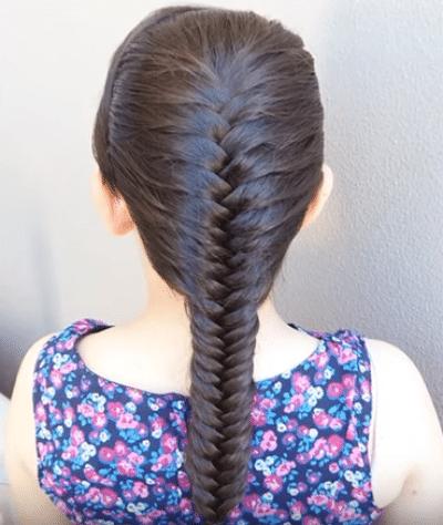10 Peinados Infantiles Con Trenzas Como Realizarlos Paso A Paso